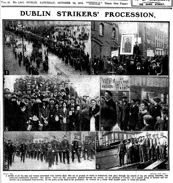 dublin strike and lockout 1913 essay Trivia quiz - 1913 dublin strike and lockout category: irish quiz #263,950 10 questions, rated difficult by juliaakamumu i am doing my leaving certificate history exam in three days and while revising i decided to create a quiz on one of the case studies: 1913 dublin strike and lockout i hope you will enjoy it.